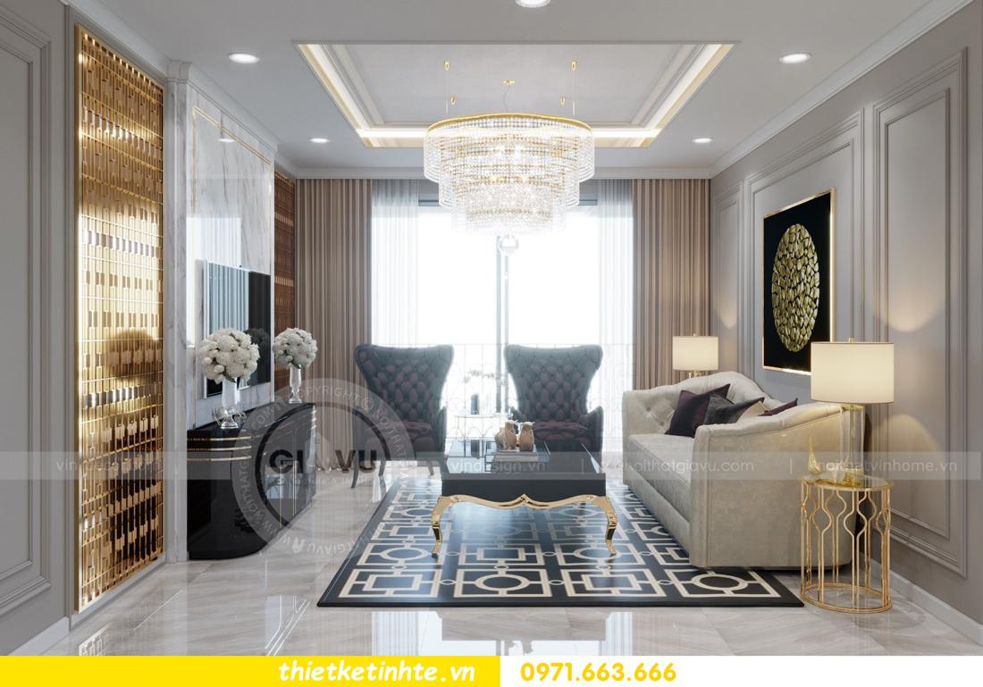 thiết kế nội thất chung cư Vinhomes Metropolis tòa M1 02