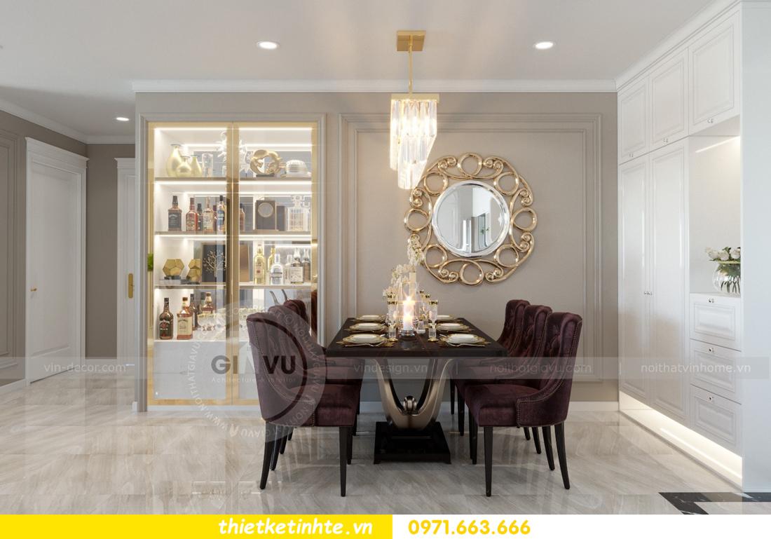 thiết kế nội thất chung cư Vinhomes Metropolis tòa M1 05