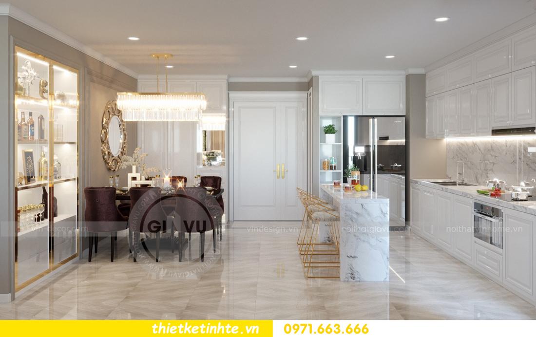 thiết kế nội thất chung cư Vinhomes Metropolis tòa M1 06