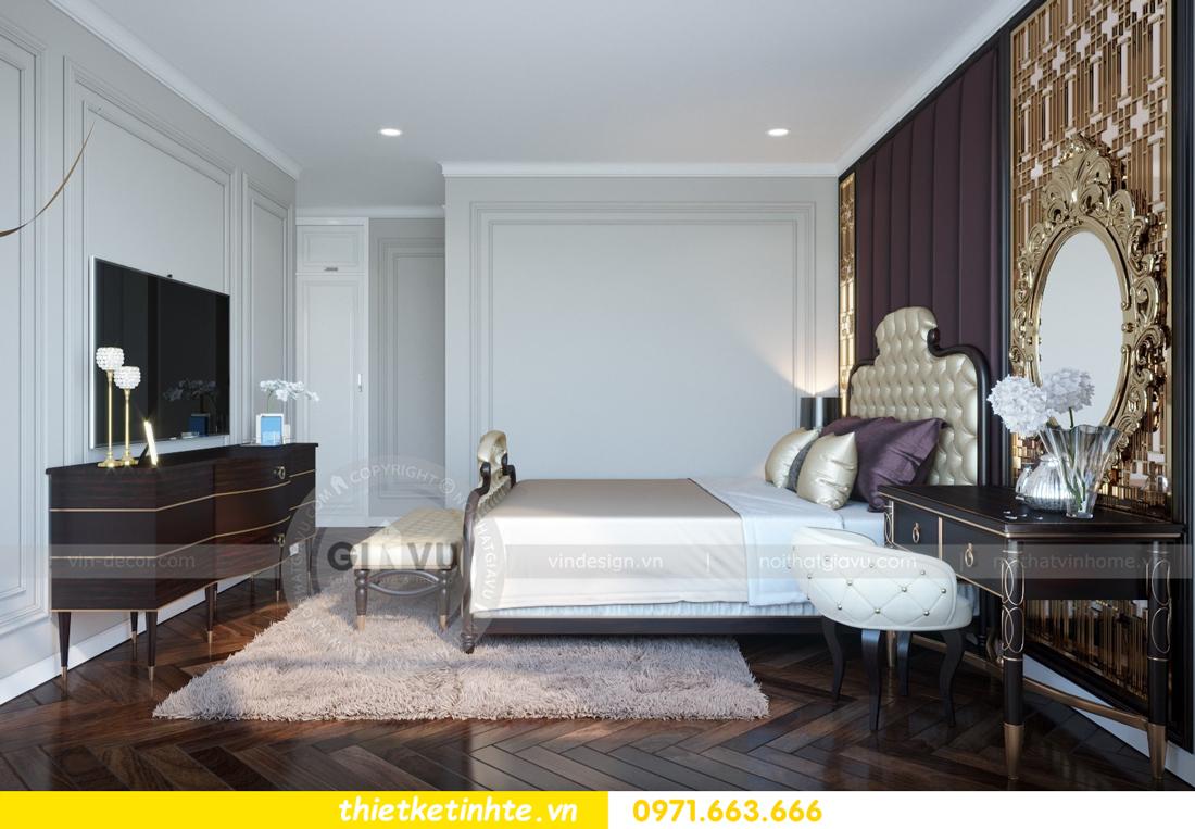 thiết kế nội thất chung cư Vinhomes Metropolis tòa M1 08