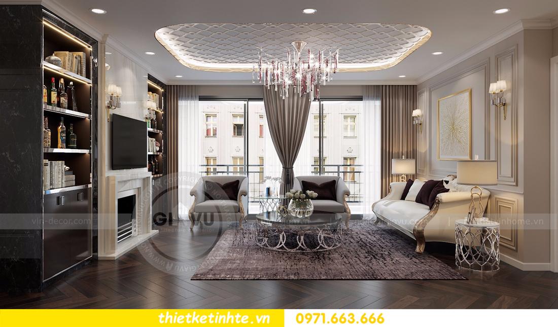thiết kế nội thất Vinhomes D'Capitale toàn C3 căn 04 03