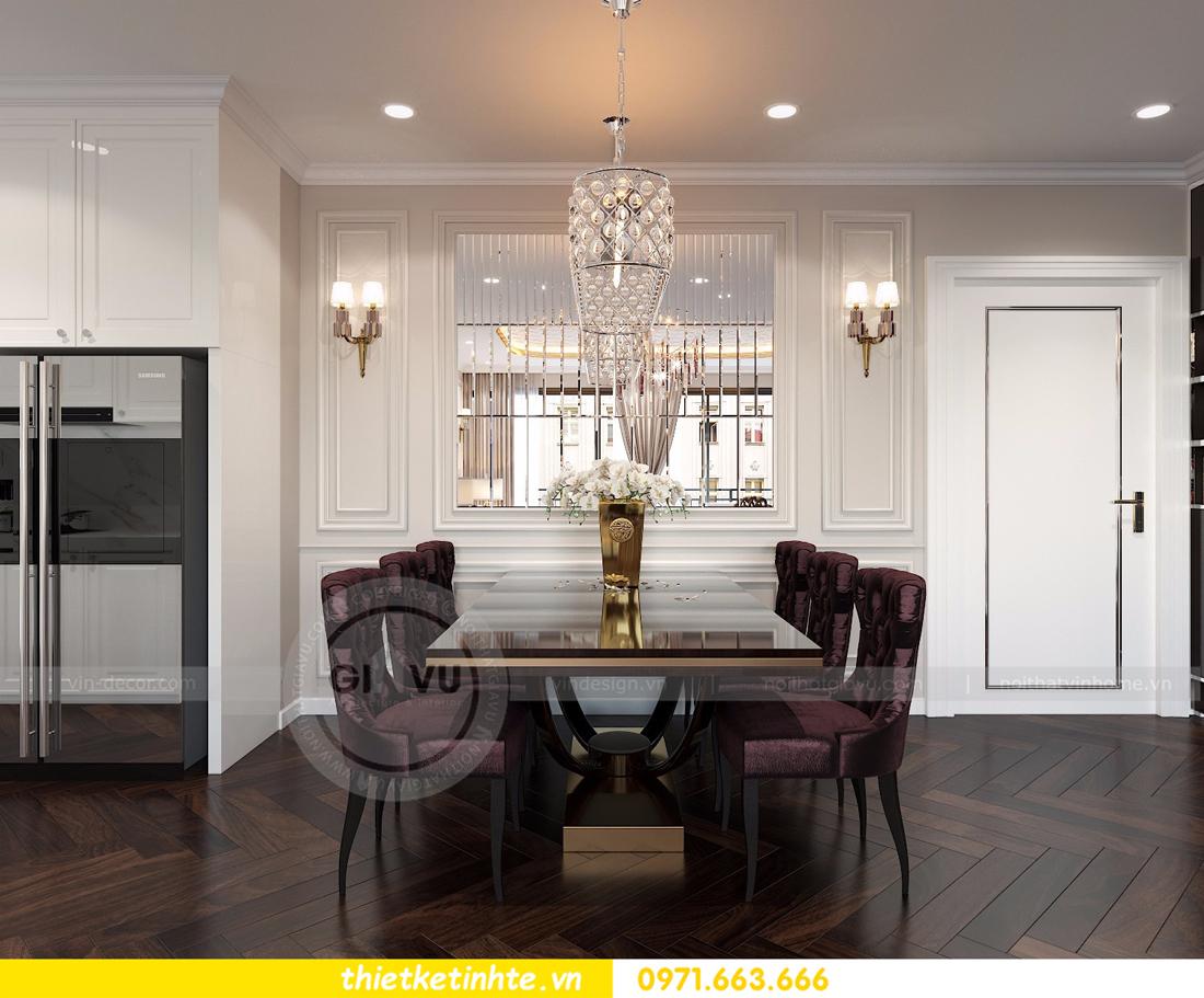 thiết kế nội thất Vinhomes D'Capitale toàn C3 căn 04 06