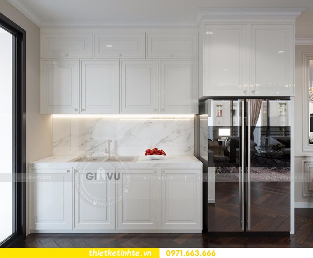 thiết kế nội thất Vinhomes D'Capitale toàn C3 căn 04 07