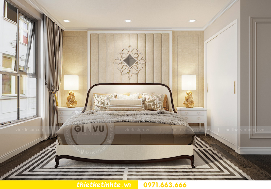 thiết kế nội thất Vinhomes D'Capitale toàn C3 căn 04 09