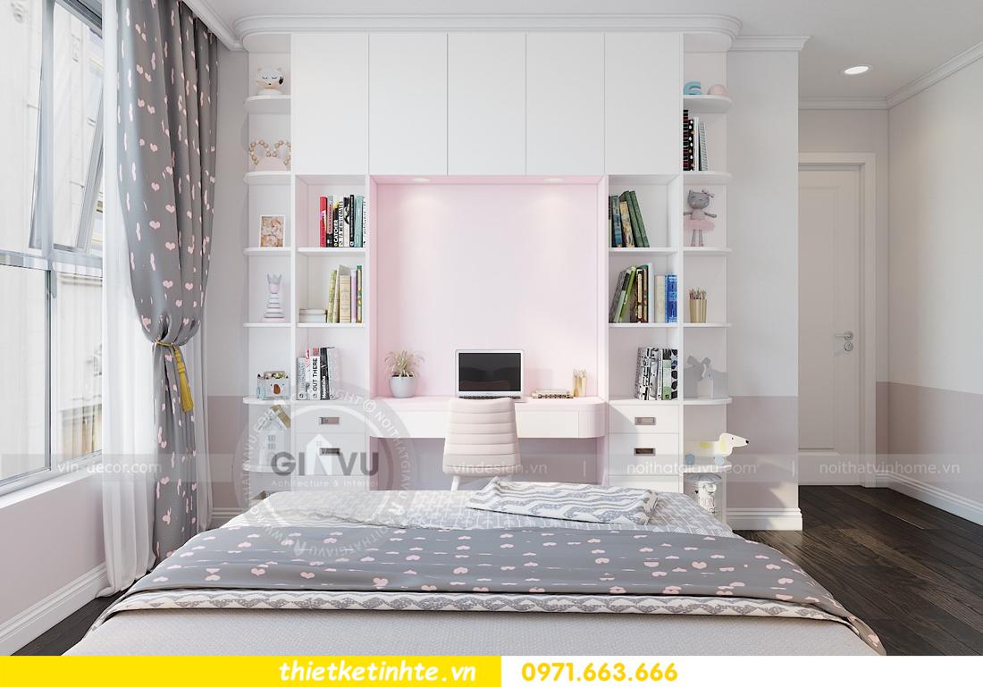 thiết kế nội thất Vinhomes D'Capitale toàn C3 căn 04 12
