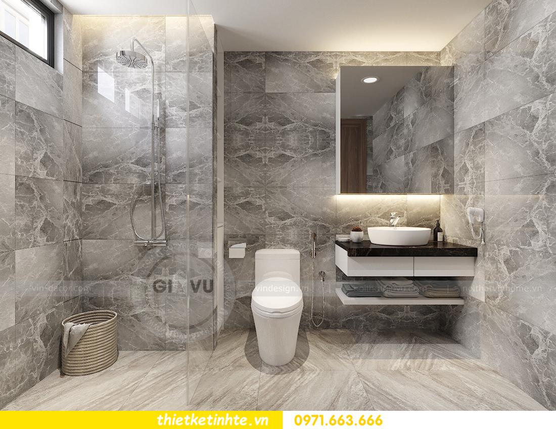 thiết kế nội thất Vinhomes D'Capitale toàn C3 căn 04 14