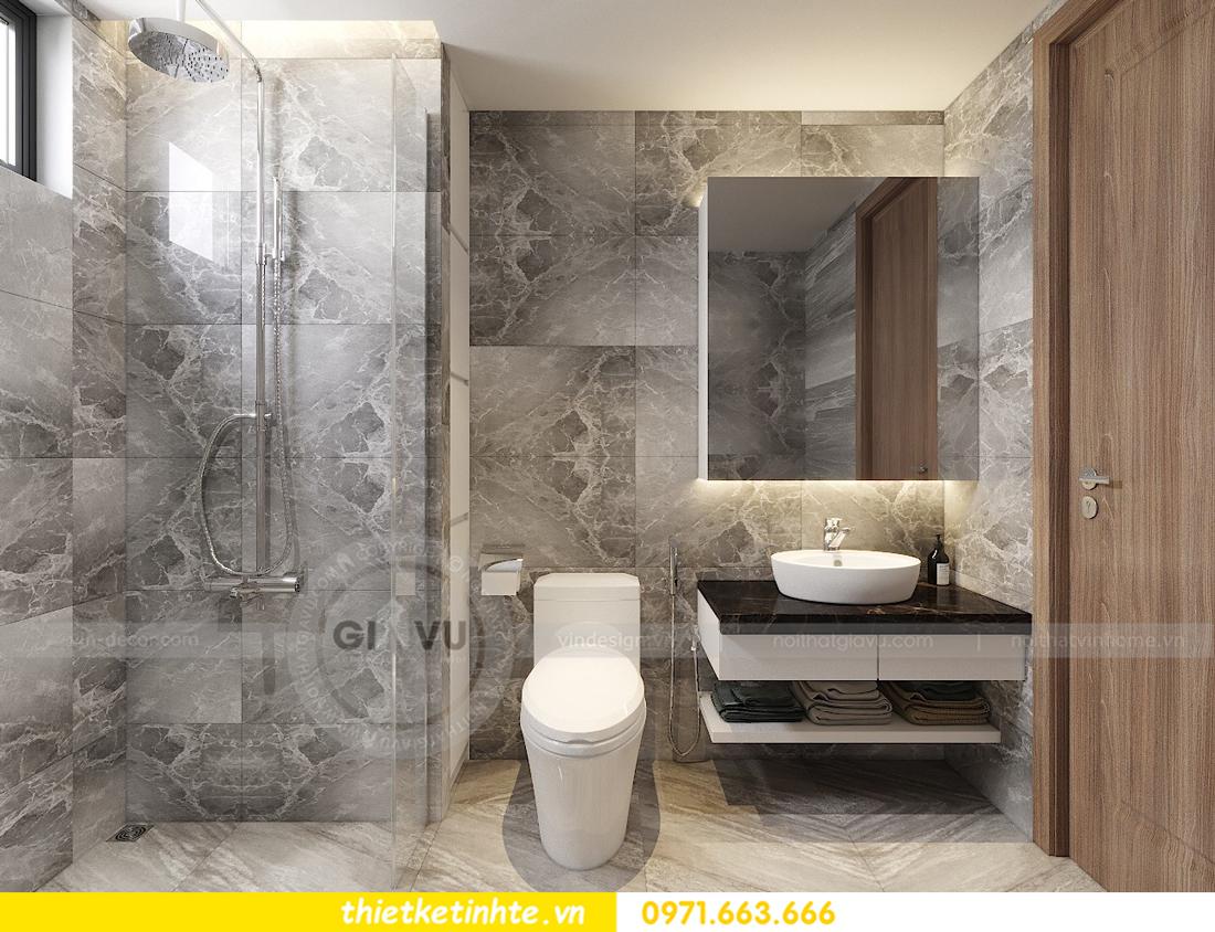thiết kế nội thất Vinhomes D'Capitale toàn C3 căn 04 15