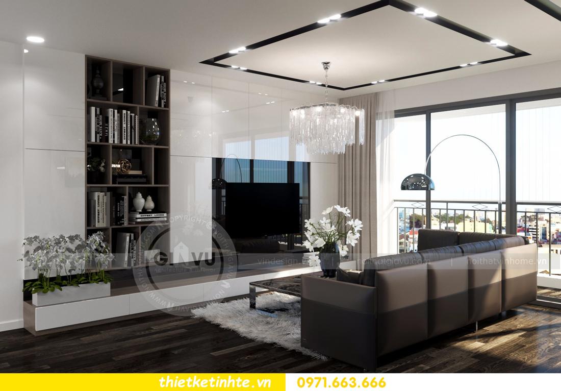 thiết kế nội thất Vinhomes D Capitale tòa C3 căn 06 thiết kế tinh tế 03