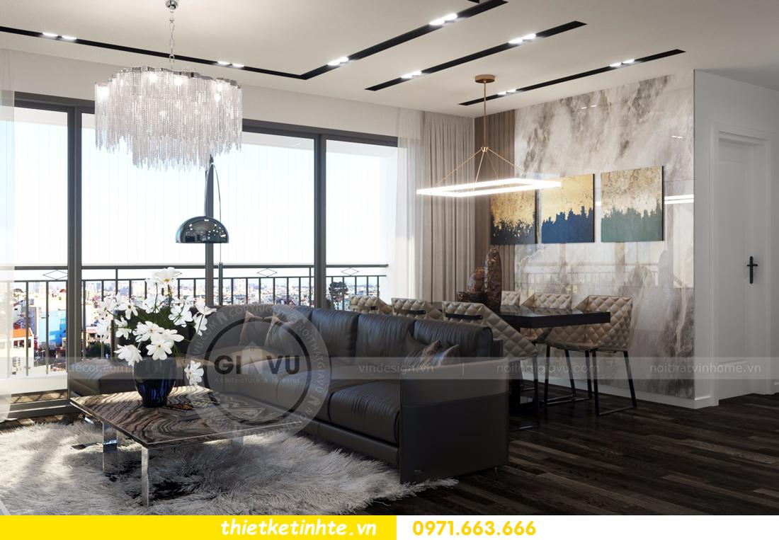 thiết kế nội thất Vinhomes D Capitale tòa C3 căn 06 thiết kế tinh tế 04