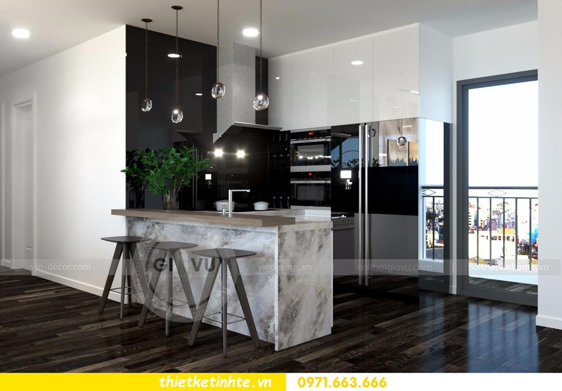 thiết kế nội thất Vinhomes D Capitale tòa C3 căn 06 thiết kế tinh tế 05