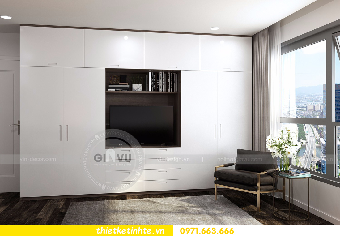 thiết kế nội thất Vinhomes D Capitale tòa C3 căn 06 thiết kế tinh tế 08