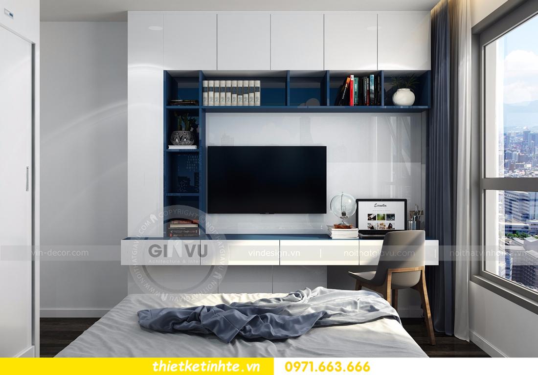 thiết kế nội thất Vinhomes D Capitale tòa C3 căn 06 thiết kế tinh tế 10