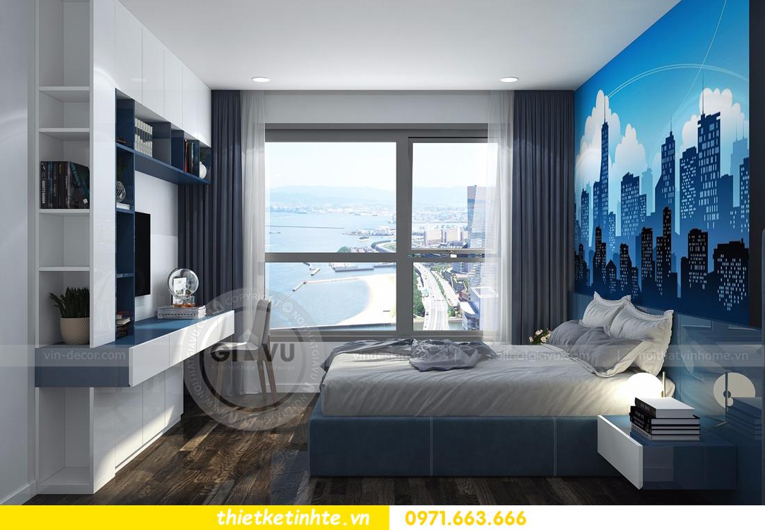 thiết kế nội thất Vinhomes D Capitale tòa C3 căn 06 thiết kế tinh tế 11