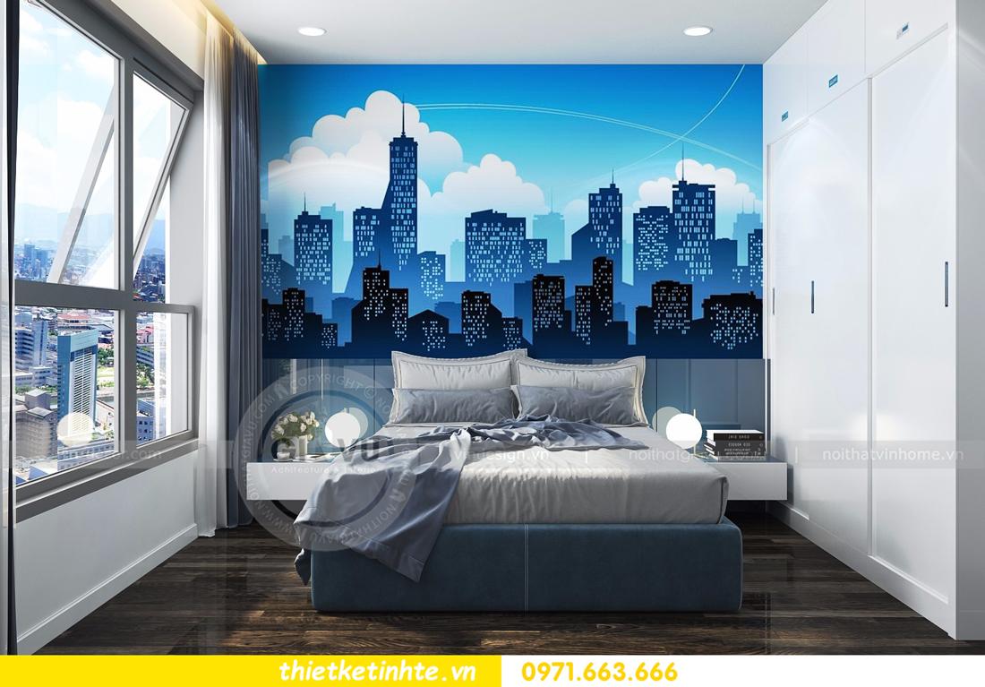 thiết kế nội thất Vinhomes D Capitale tòa C3 căn 06 thiết kế tinh tế 13
