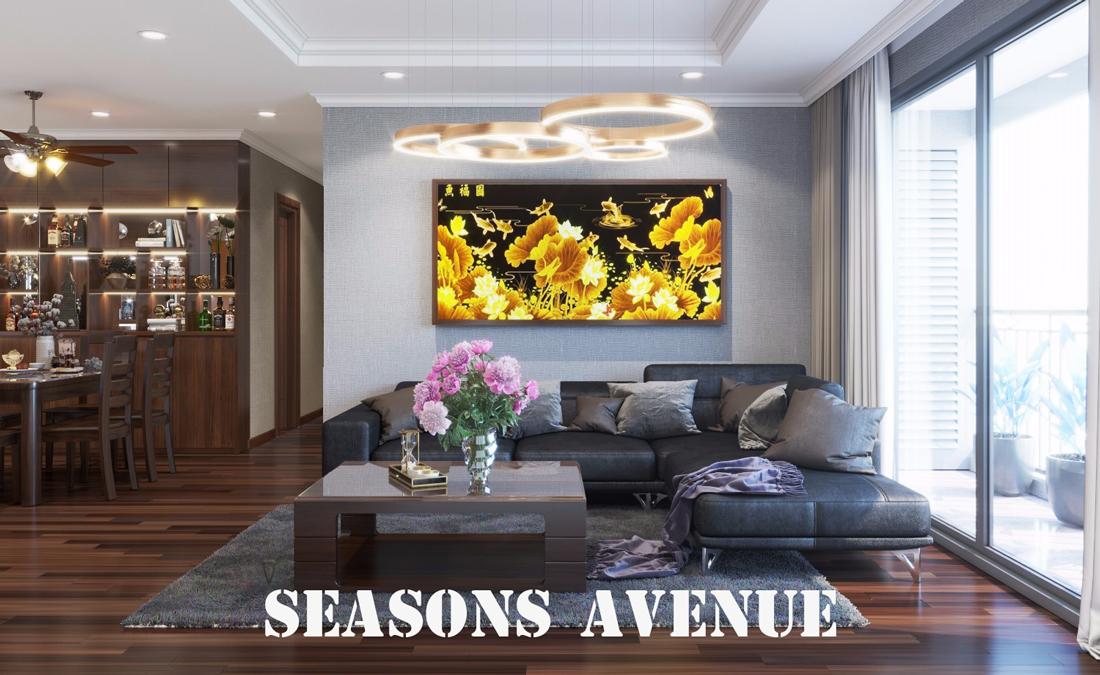 Thiết Kế Nội Thất Chung Cư Season Avenue SS4 Căn 06 Anh Tuấn