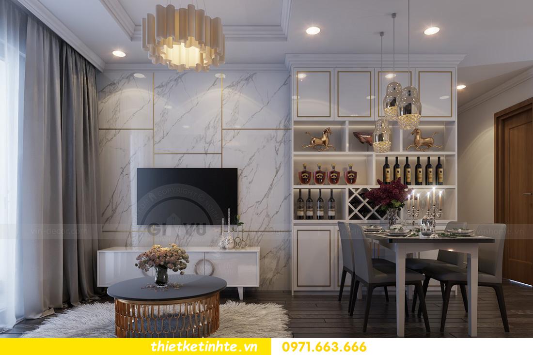 mẫu thiết kế nội thất chung cư Ancora Lương Yên đẹp mê ly 02