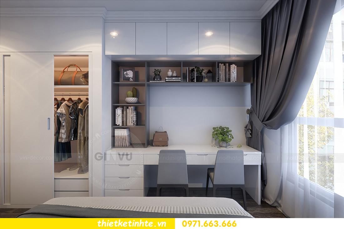mẫu thiết kế nội thất chung cư Ancora Lương Yên đẹp mê ly 07