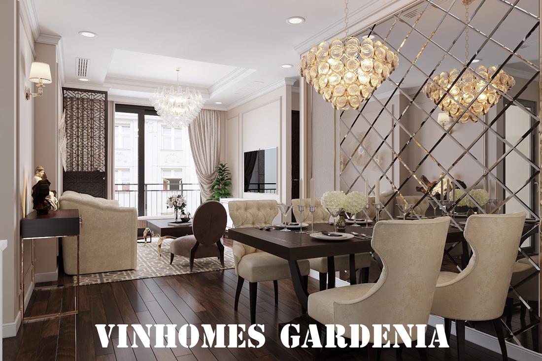 Thiết Kế Nội Thất Căn Hộ 21 Tòa A3 Chung Cư Gardenia – Anh Dũng