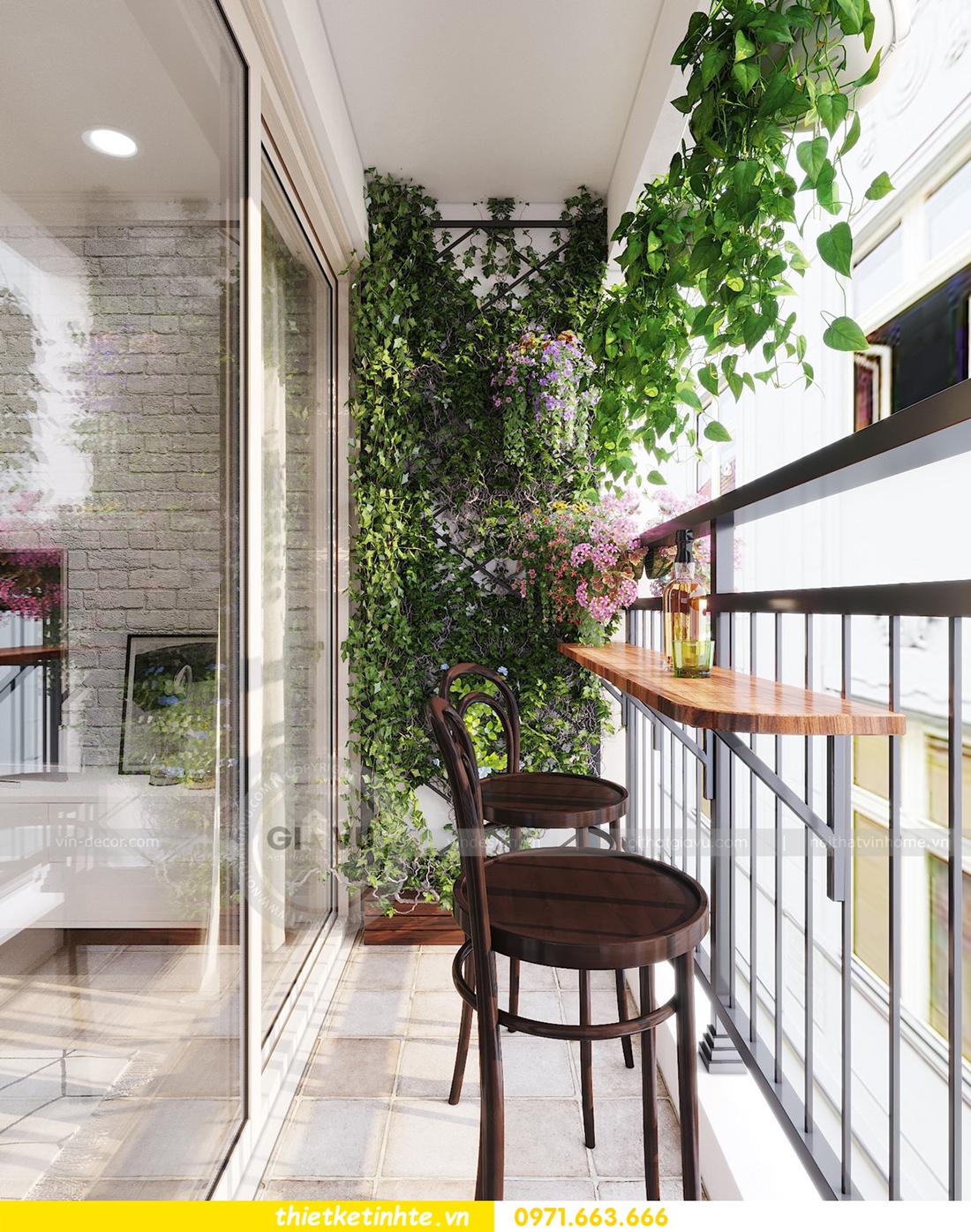 thiết kế nội thất căn hộ hiện đại anh bách chung cư Seasons Avenue 05