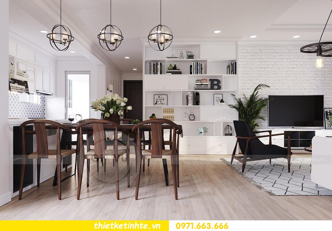thiết kế nội thất căn hộ hiện đại anh bách chung cư Seasons Avenue 06