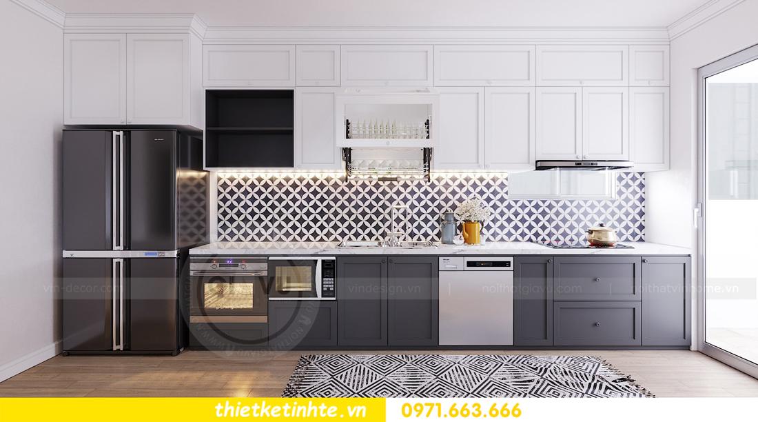 thiết kế nội thất căn hộ hiện đại anh bách chung cư Seasons Avenue 08