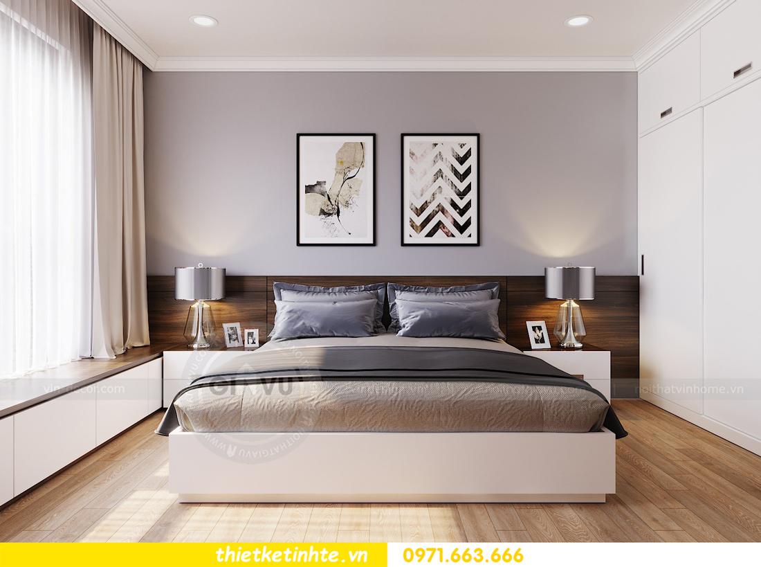thiết kế nội thất căn hộ hiện đại anh bách chung cư Seasons Avenue 13