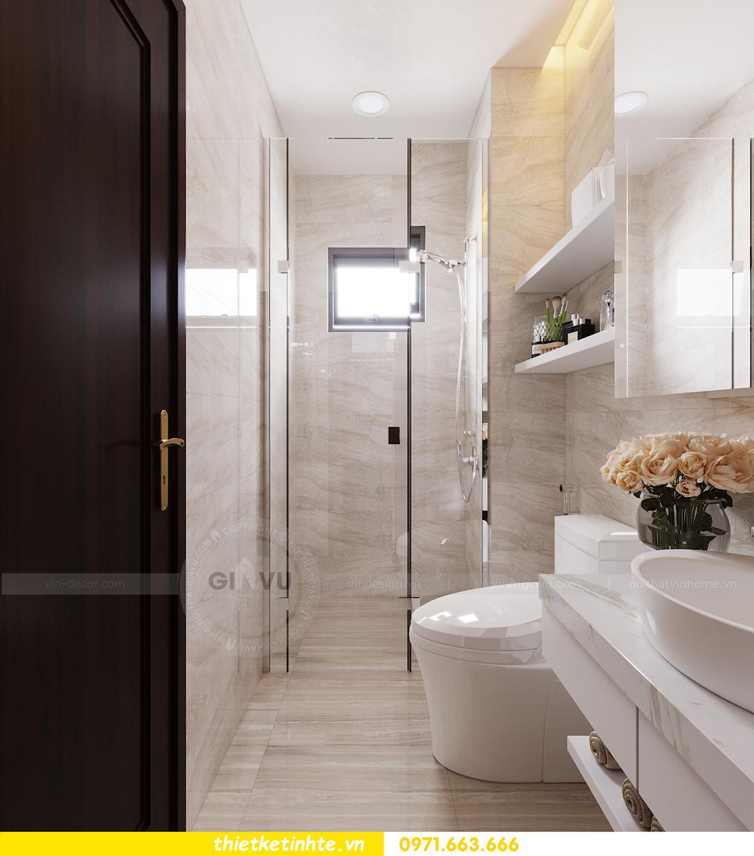 thiết kế nội thất căn hộ hiện đại anh bách chung cư Seasons Avenue 14