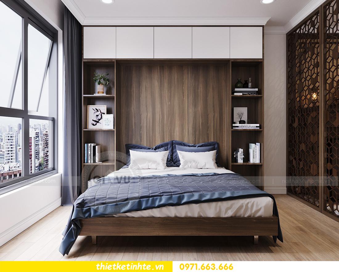 thiết kế nội thất căn hộ hiện đại anh bách chung cư Seasons Avenue 16