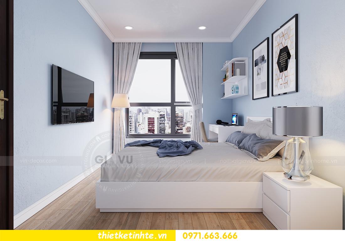 thiết kế nội thất căn hộ hiện đại anh bách chung cư Seasons Avenue 20