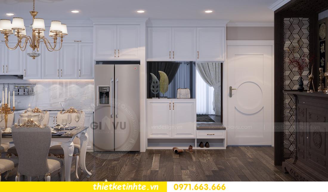 thiết kế nội thất chung cư Vinhomes Gardenia tòa A2 căn 06 chị Nụ 01