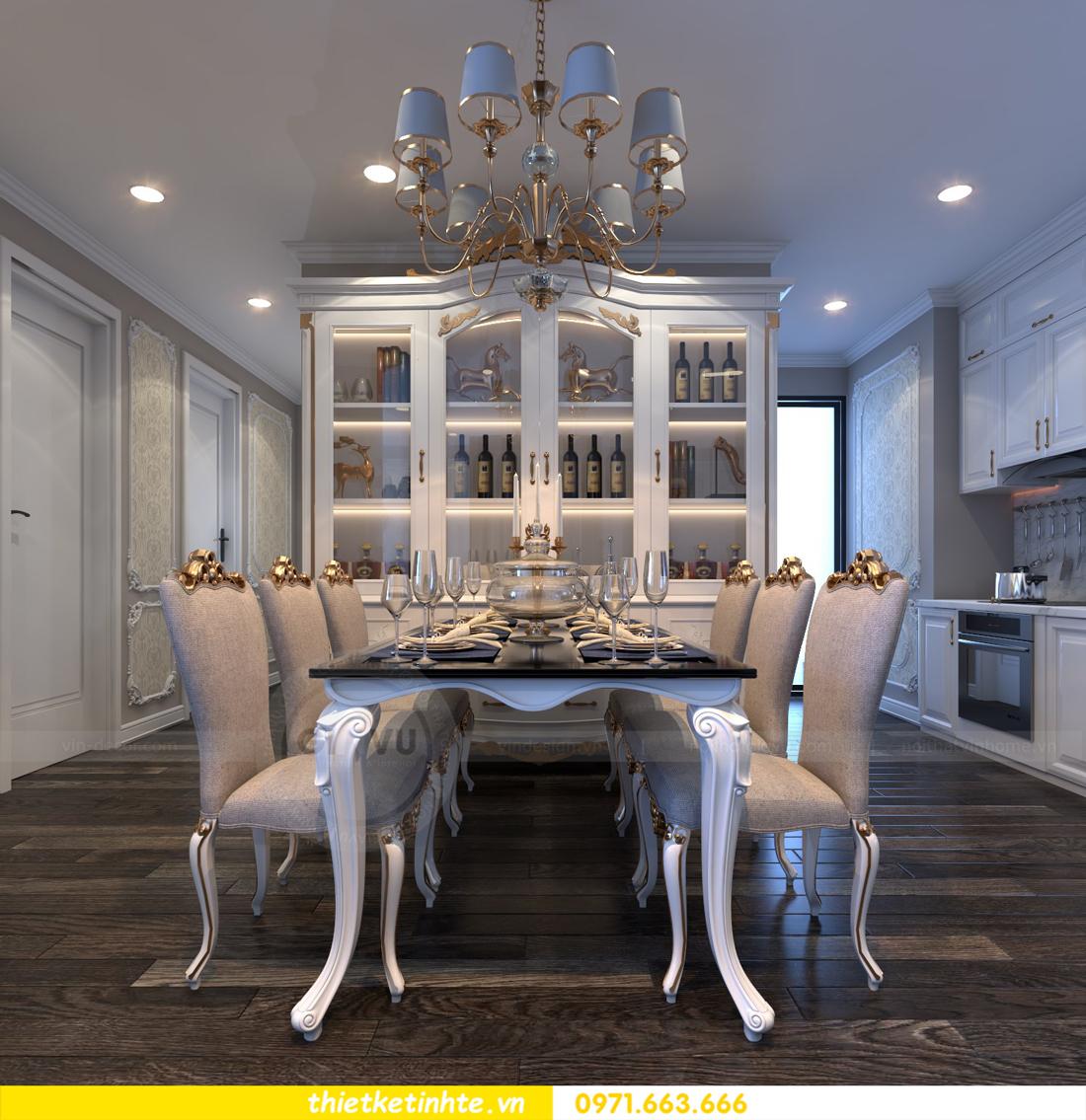 thiết kế nội thất chung cư Vinhomes Gardenia tòa A2 căn 06 chị Nụ 03