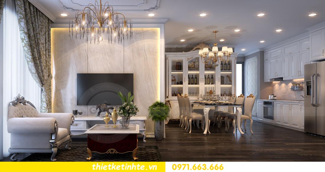 thiết kế nội thất chung cư Vinhomes Gardenia tòa A2 căn 06 chị Nụ 05