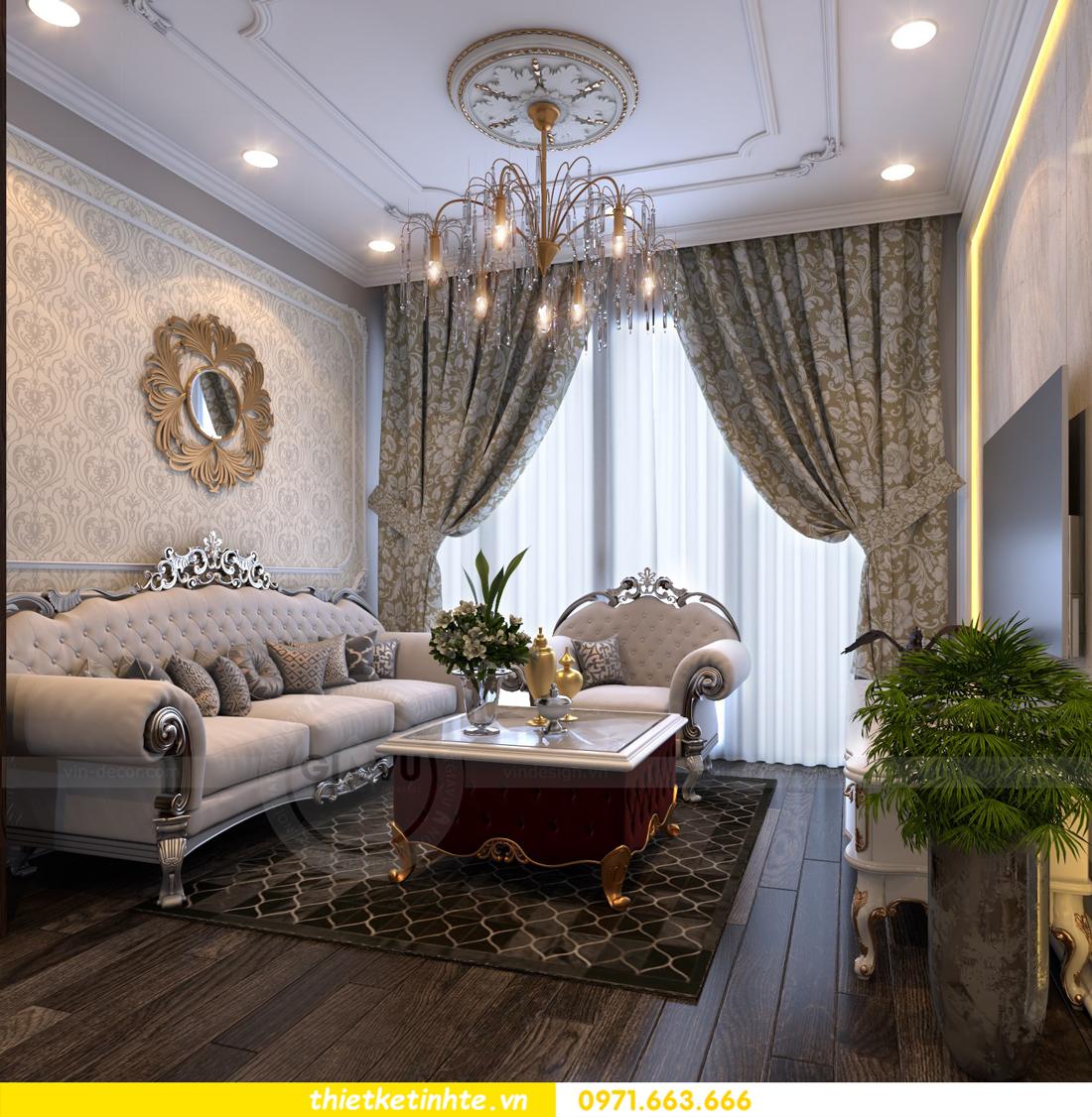 thiết kế nội thất chung cư Vinhomes Gardenia tòa A2 căn 06 chị Nụ 06