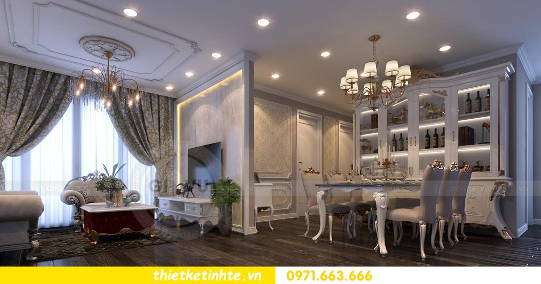 thiết kế nội thất chung cư Vinhomes Gardenia tòa A2 căn 06 chị Nụ 07