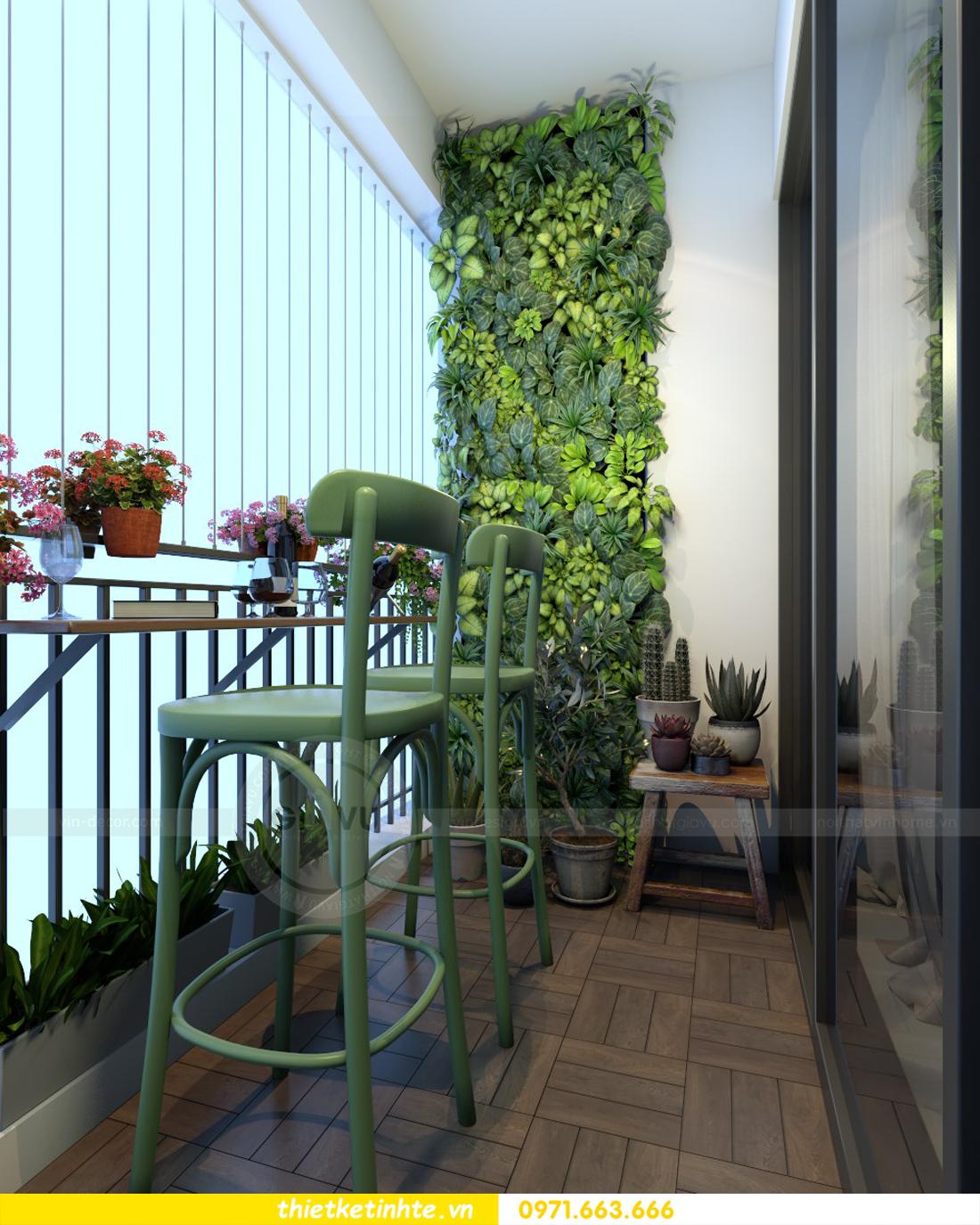 thiết kế nội thất chung cư Vinhomes Gardenia tòa A2 căn 06 chị Nụ 08