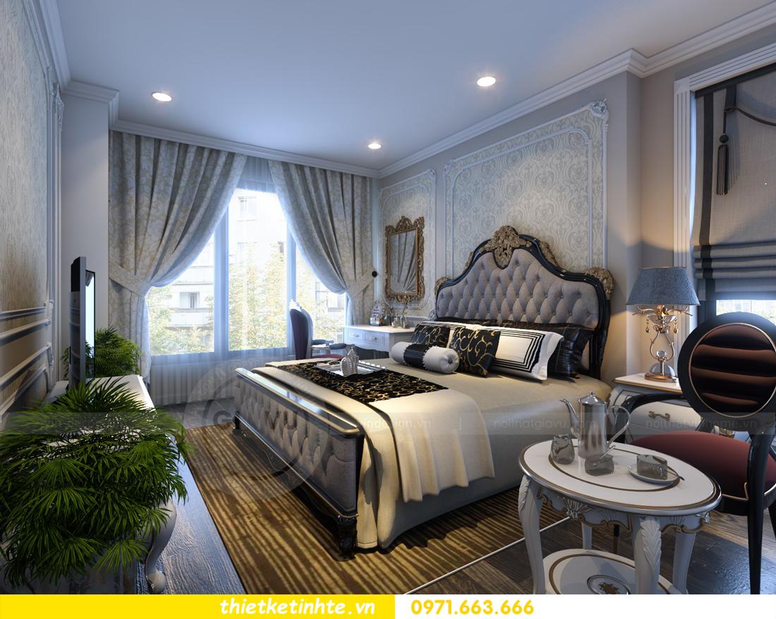 thiết kế nội thất chung cư Vinhomes Gardenia tòa A2 căn 06 chị Nụ 10
