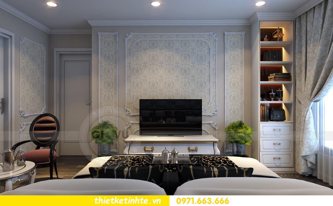 thiết kế nội thất chung cư Vinhomes Gardenia tòa A2 căn 06 chị Nụ 11