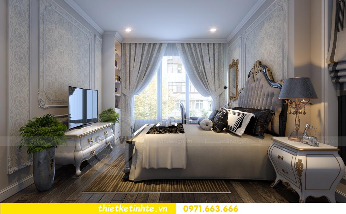 thiết kế nội thất chung cư Vinhomes Gardenia tòa A2 căn 06 chị Nụ 12