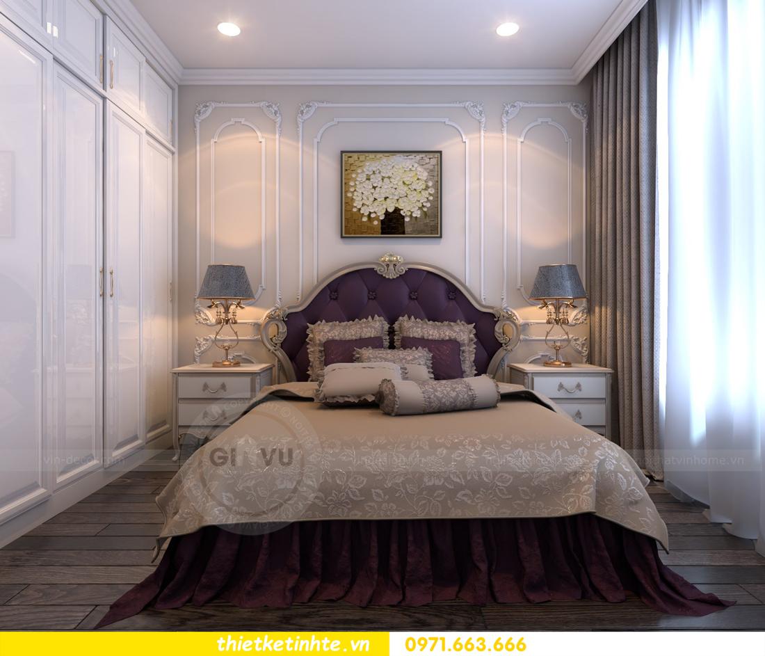thiết kế nội thất chung cư Vinhomes Gardenia tòa A2 căn 06 chị Nụ 14