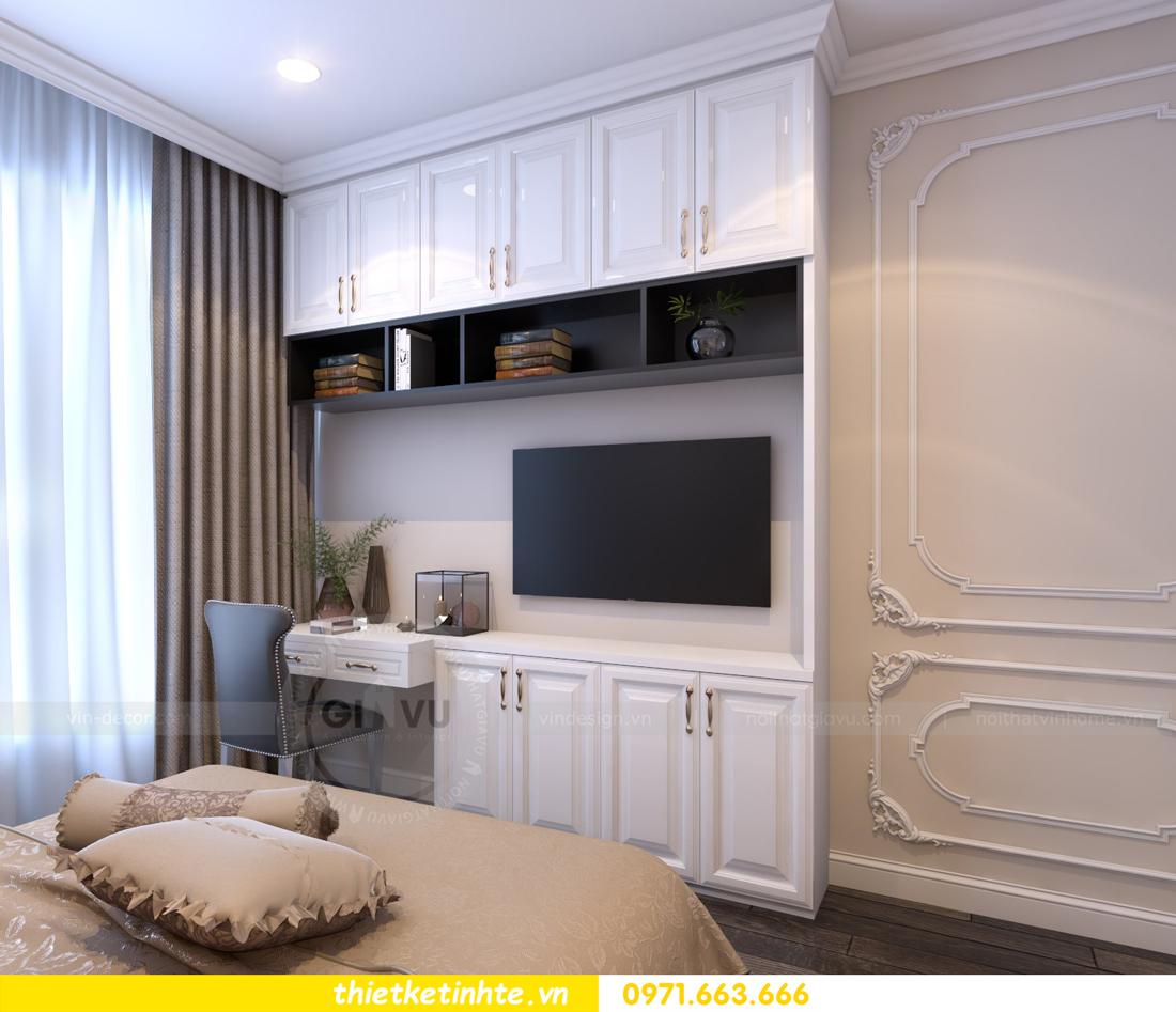 thiết kế nội thất chung cư Vinhomes Gardenia tòa A2 căn 06 chị Nụ 15
