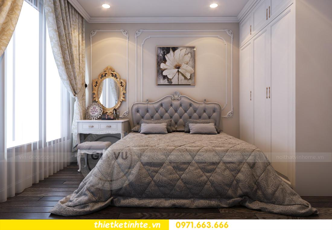 thiết kế nội thất chung cư Vinhomes Gardenia tòa A2 căn 06 chị Nụ 16