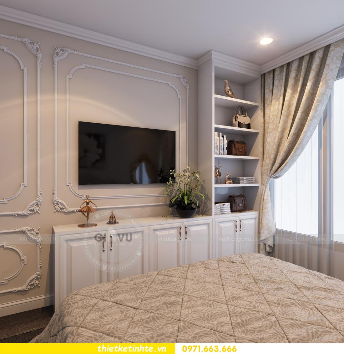 thiết kế nội thất chung cư Vinhomes Gardenia tòa A2 căn 06 chị Nụ 17