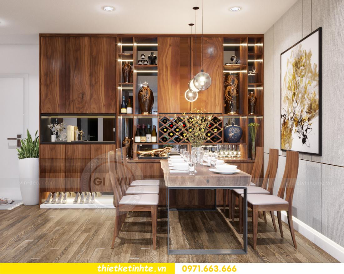 thiết kế nội thất chung cư Vinhomes Trần Duy Hưng căn 08 C1 04