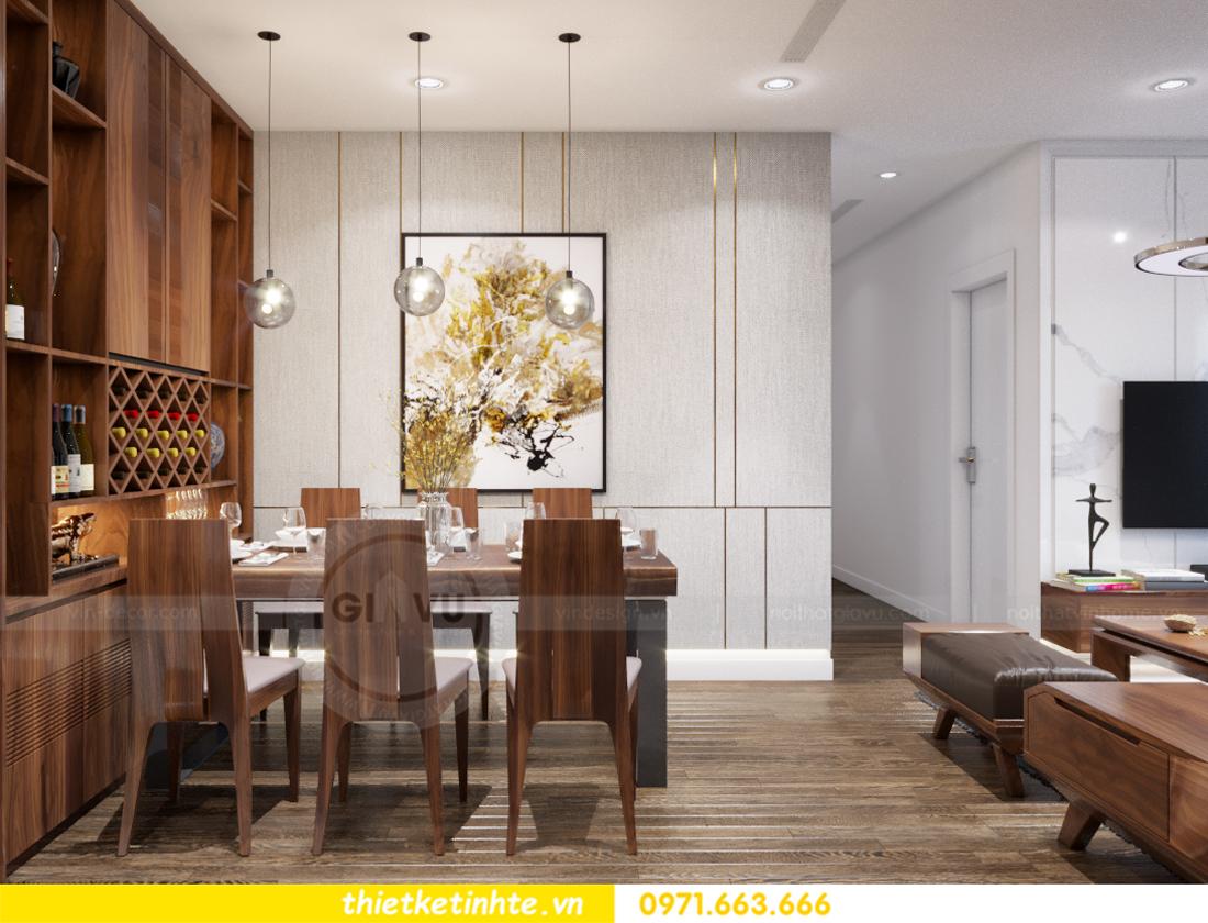 thiết kế nội thất chung cư Vinhomes Trần Duy Hưng căn 08 C1 05