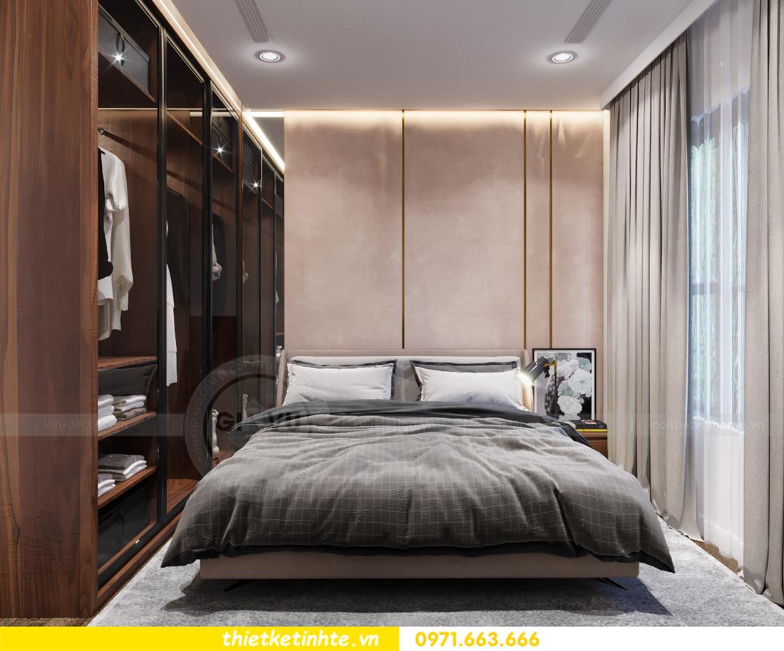 thiết kế nội thất chung cư Vinhomes Trần Duy Hưng căn 08 C1 09