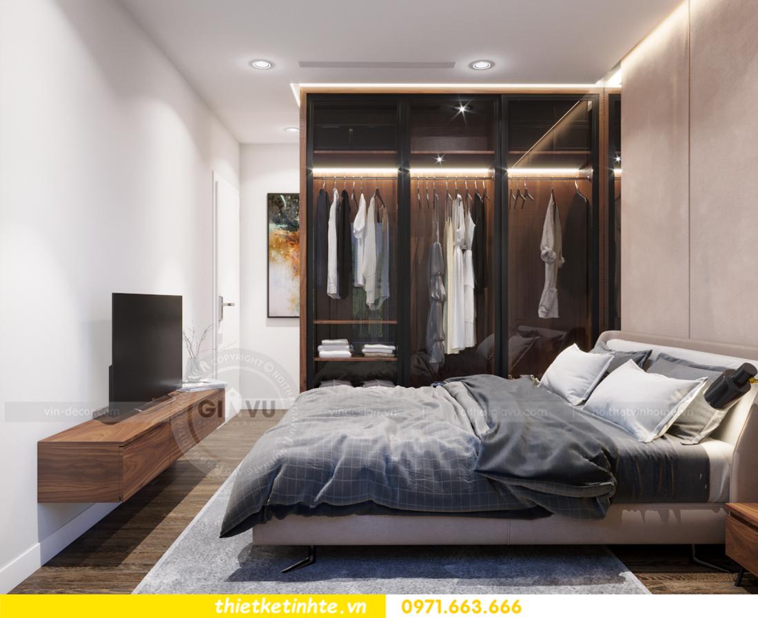 thiết kế nội thất chung cư Vinhomes Trần Duy Hưng căn 08 C1 10