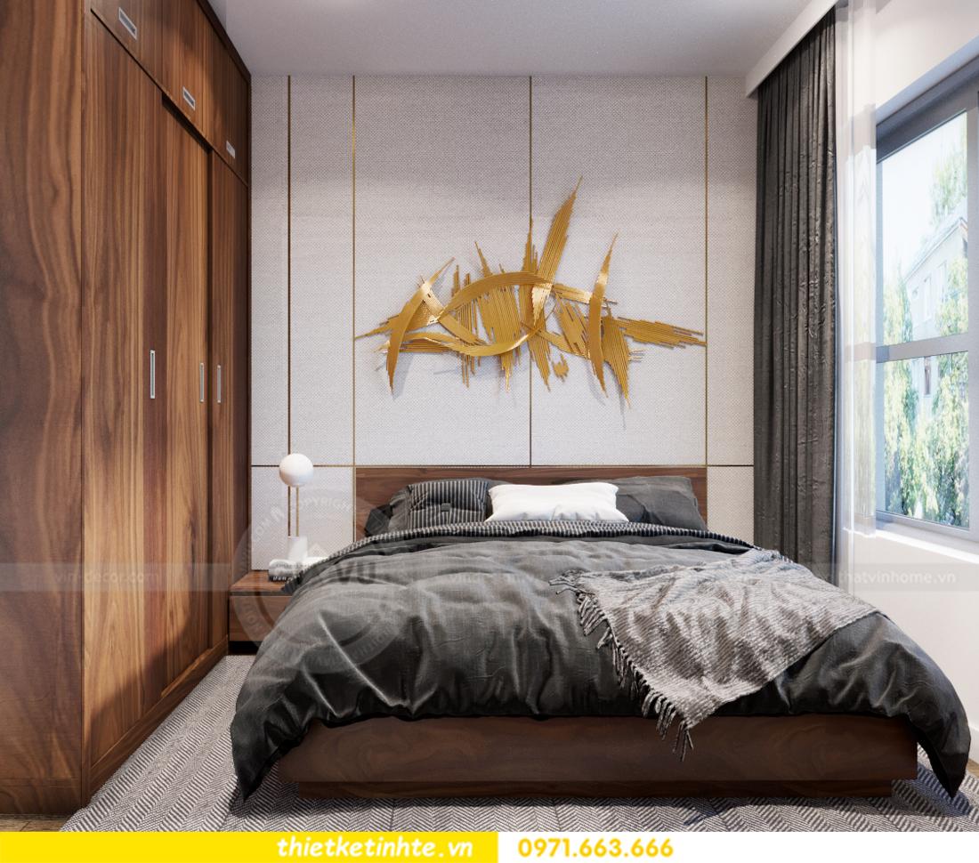 thiết kế nội thất chung cư Vinhomes Trần Duy Hưng căn 08 C1 12