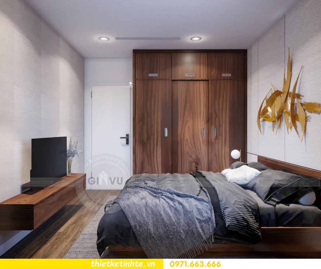 thiết kế nội thất chung cư Vinhomes Trần Duy Hưng căn 08 C1 13