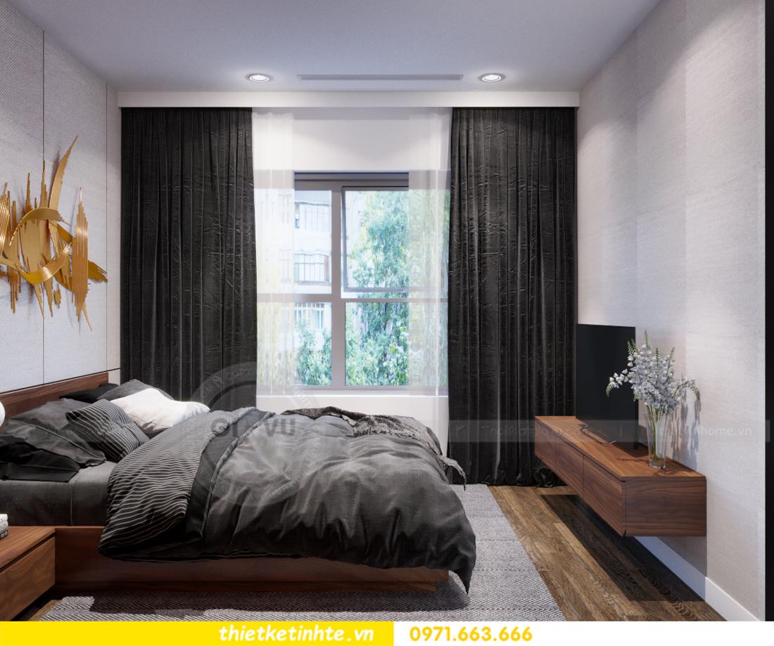 thiết kế nội thất chung cư Vinhomes Trần Duy Hưng căn 08 C1 14