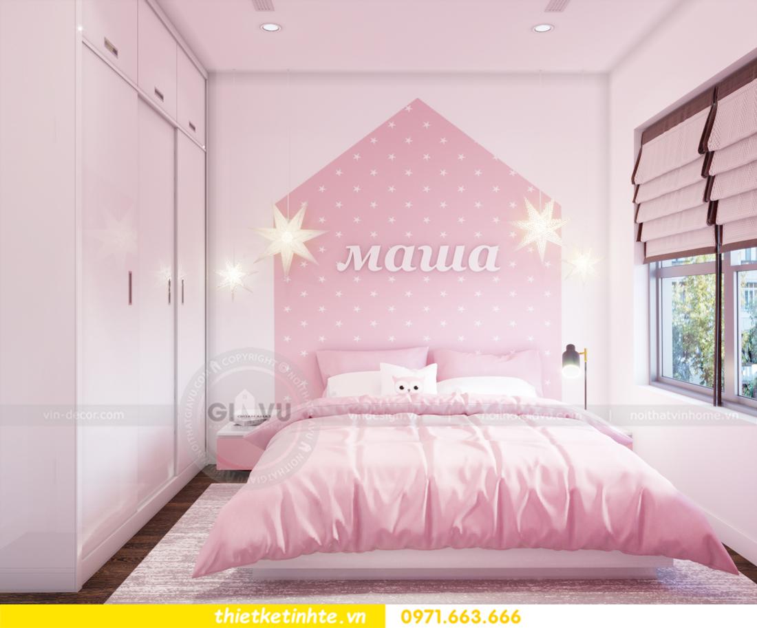 thiết kế nội thất chung cư Vinhomes Trần Duy Hưng căn 08 C1 15